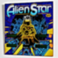 Alien Star backglass print
