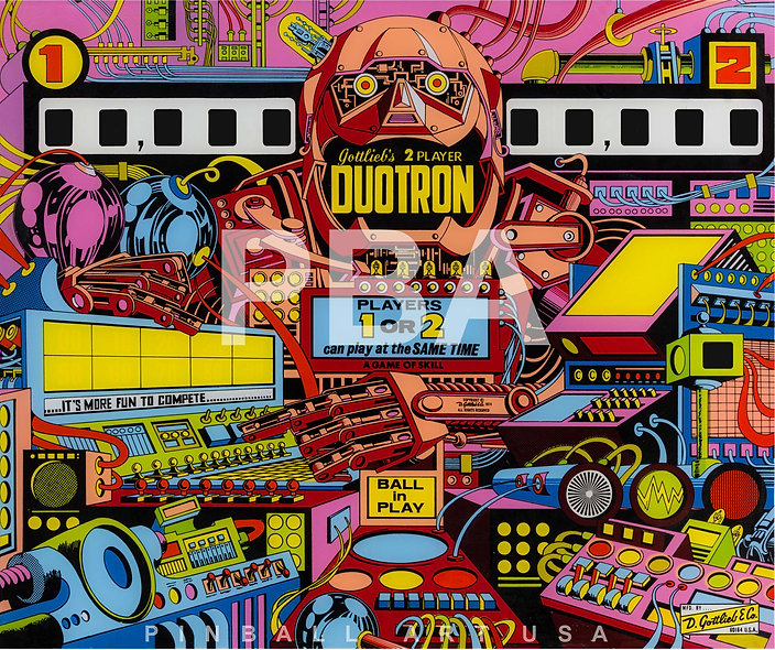 Gottlieb's Duotron by Gordon Morison