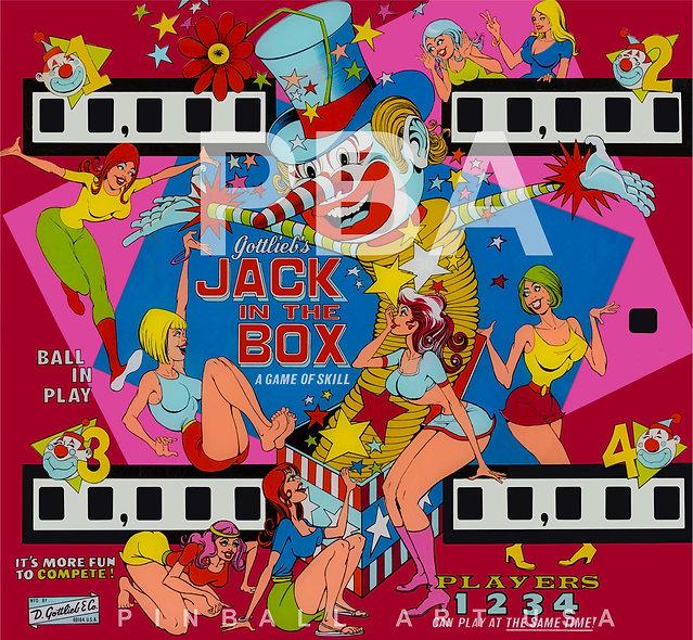 Gottlieb's Jack In the Box by Gordon Morison