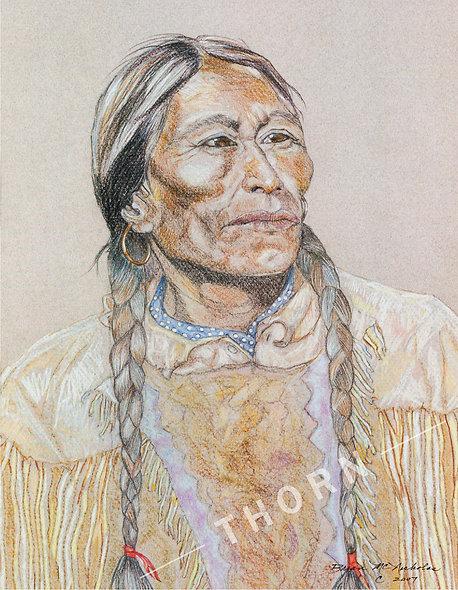 Lakota Woman by Brian McNicholas