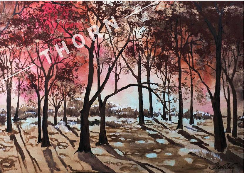 Autumn Forest by Karen Thornberg
