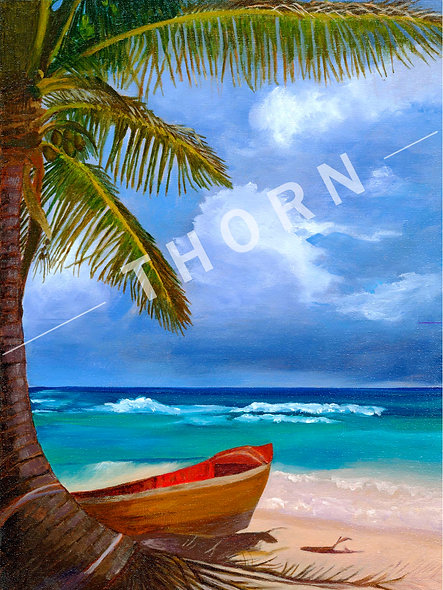 Tropical Waters by Daryle Lynn Cornelison