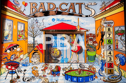 Bad Cats 1989 Williams