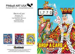 Drop A Card greeting card