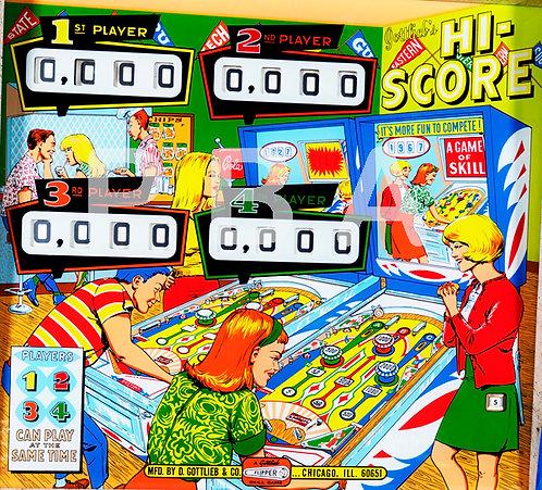 Hi- Score 1967 Gottlieb