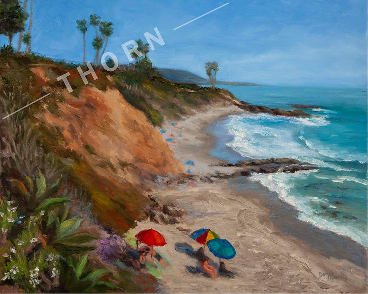 A Lovely Laguna Afternoon by Daryle Lynn Cornlison