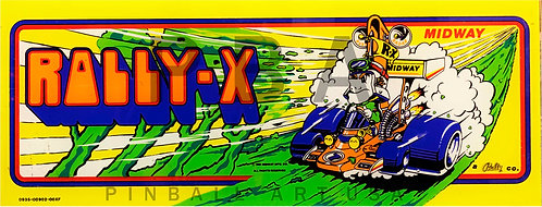 Rally-X Midway
