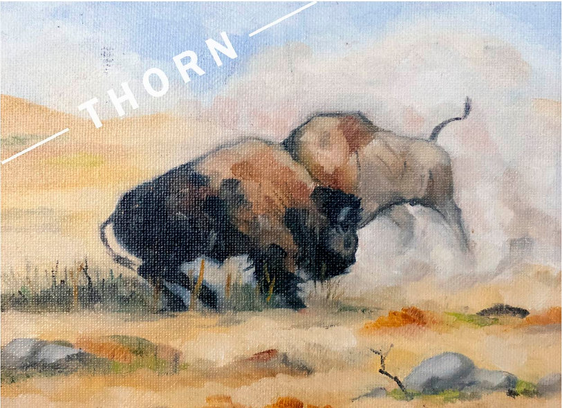 Duel On the Bison Mission Range by Brian McNicholas
