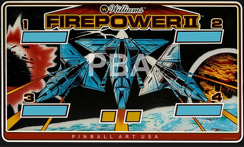 Firepower II 1983 Williams