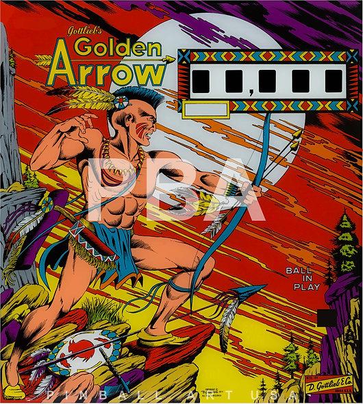Gottlieb's Golden Arrow by Gordon Morison