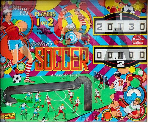 Soccer 1975 Gottlieb