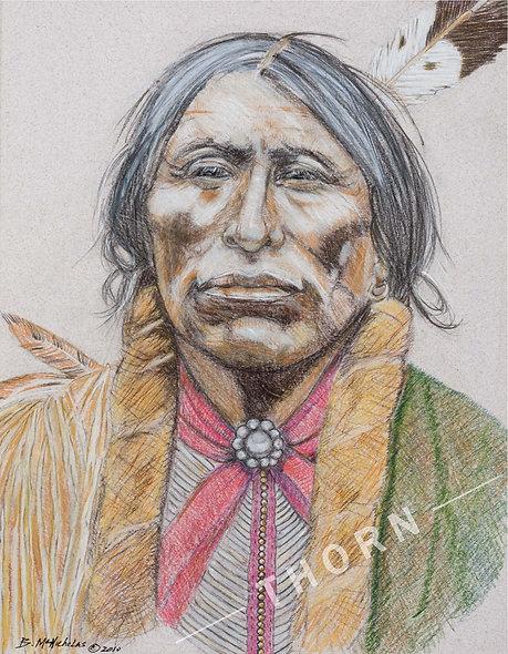 Quanah Parker Comanche Chief by Brian McNicholas