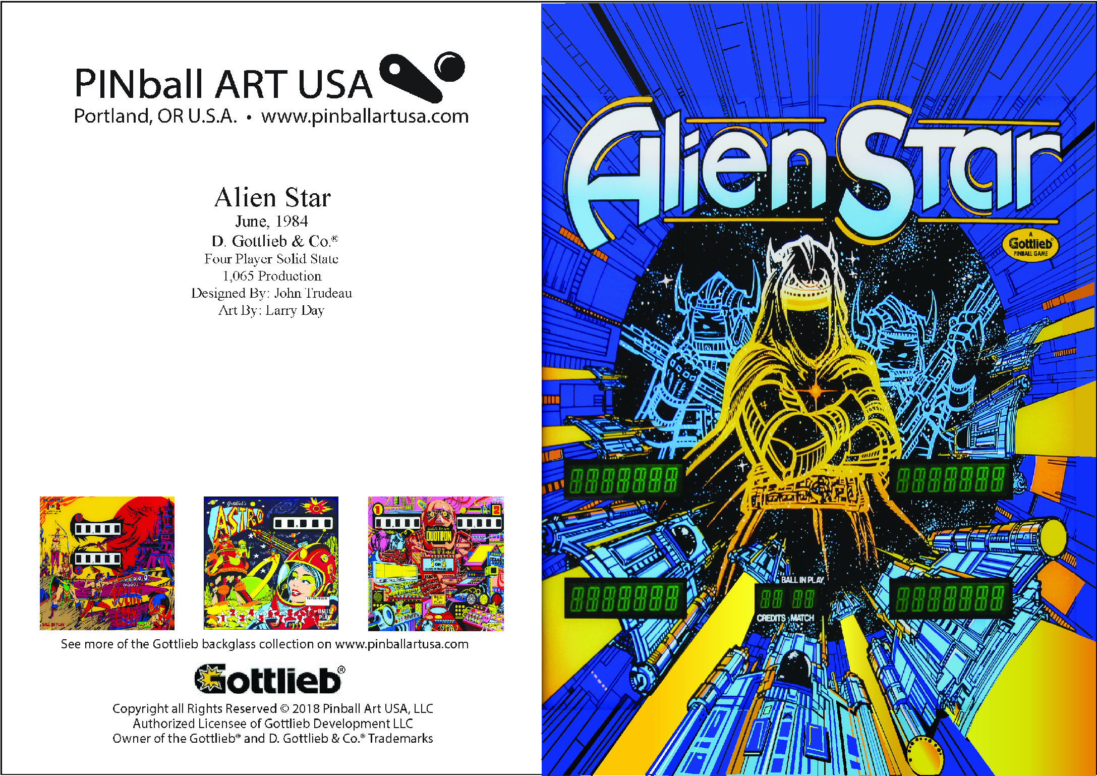 Alien Star Greeting Card