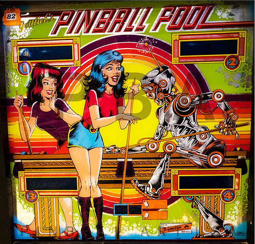 Pinball Pool 1979 Gottlieb