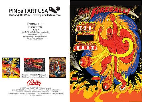 Fireball! Greeting Card