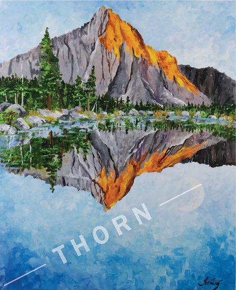 Mountain Lake by Karen Thornberg