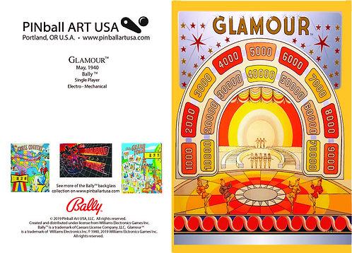 Glamour Greeting Card