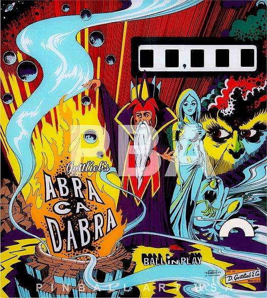 Gottlieb's Abra Ca Dabra by Gordon Morison