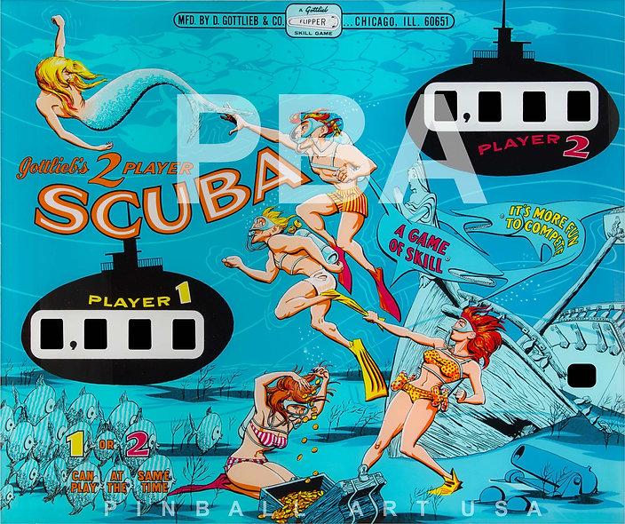 Gottlieb's Scuba by Art Stenholm