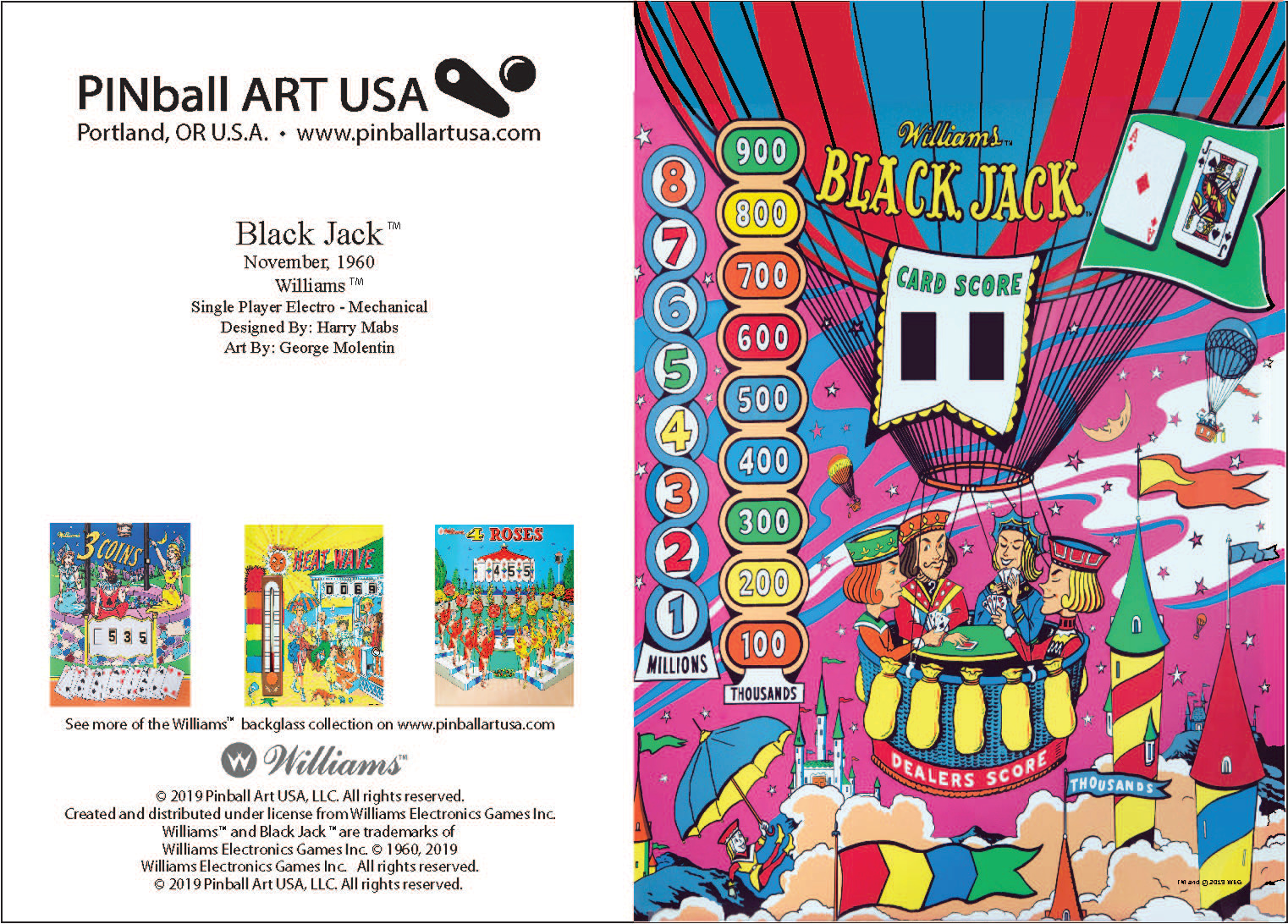 Black Jack full card