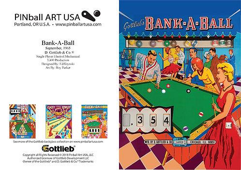 Bank-A-Ball Greeting Card