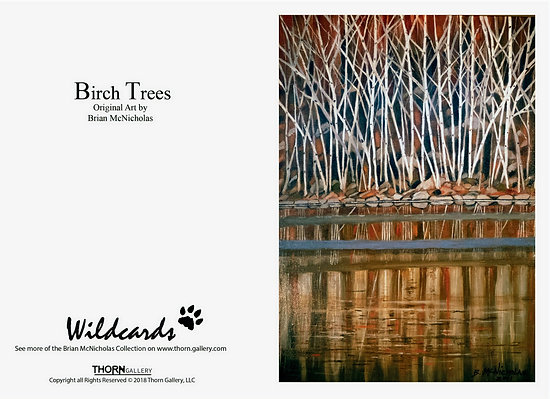 Birch Trees by Brian McNicholas