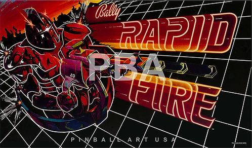 Rapid Fire 1982 Bally