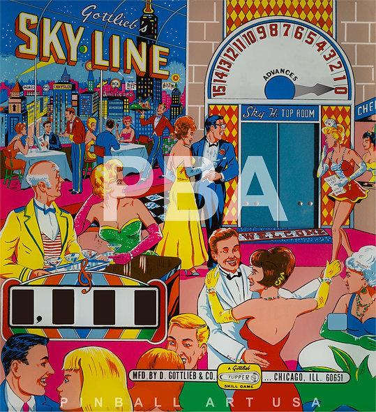 Gottlieb's Sky Line by Roy Parker