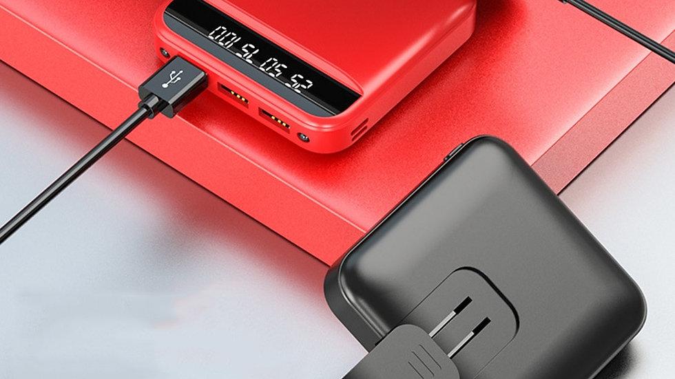 10000mAh / 20000mAh Power Bank Portable Mini External Battery Charger