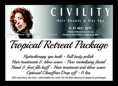 Tropical Retreat Gift Certificate