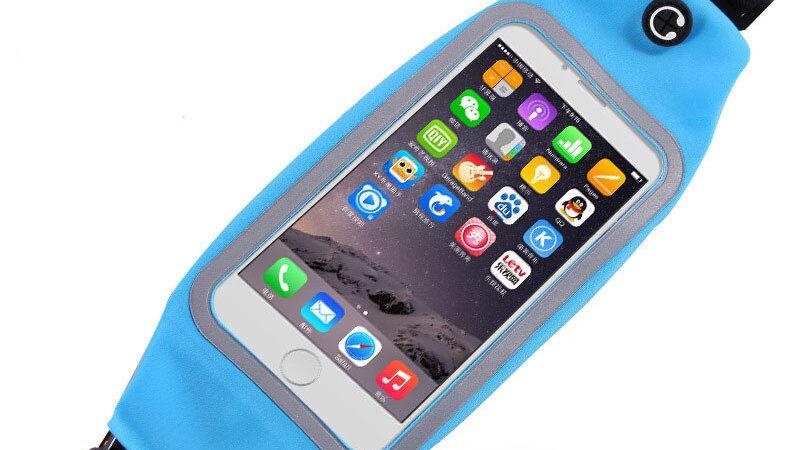 Waist Bag Running Sport Phone Case Touch Armband