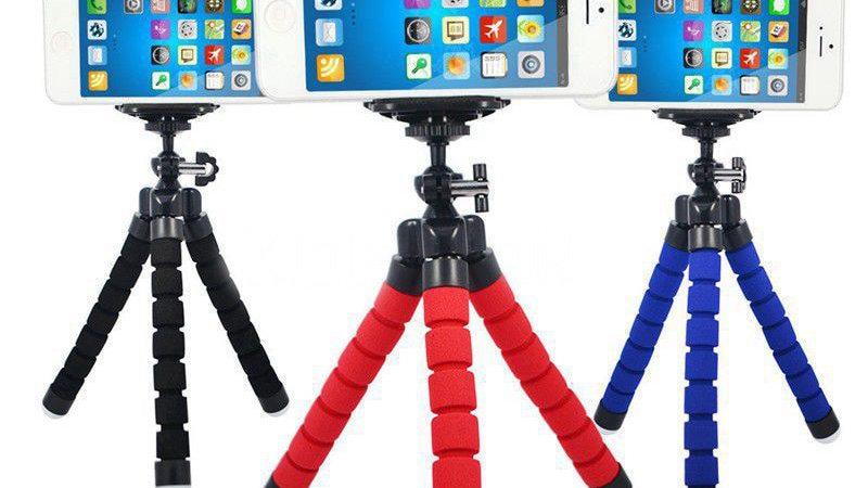 Crouch Phone Holder Tripod for Phone Camera Holder Flexible Octopus Bracket