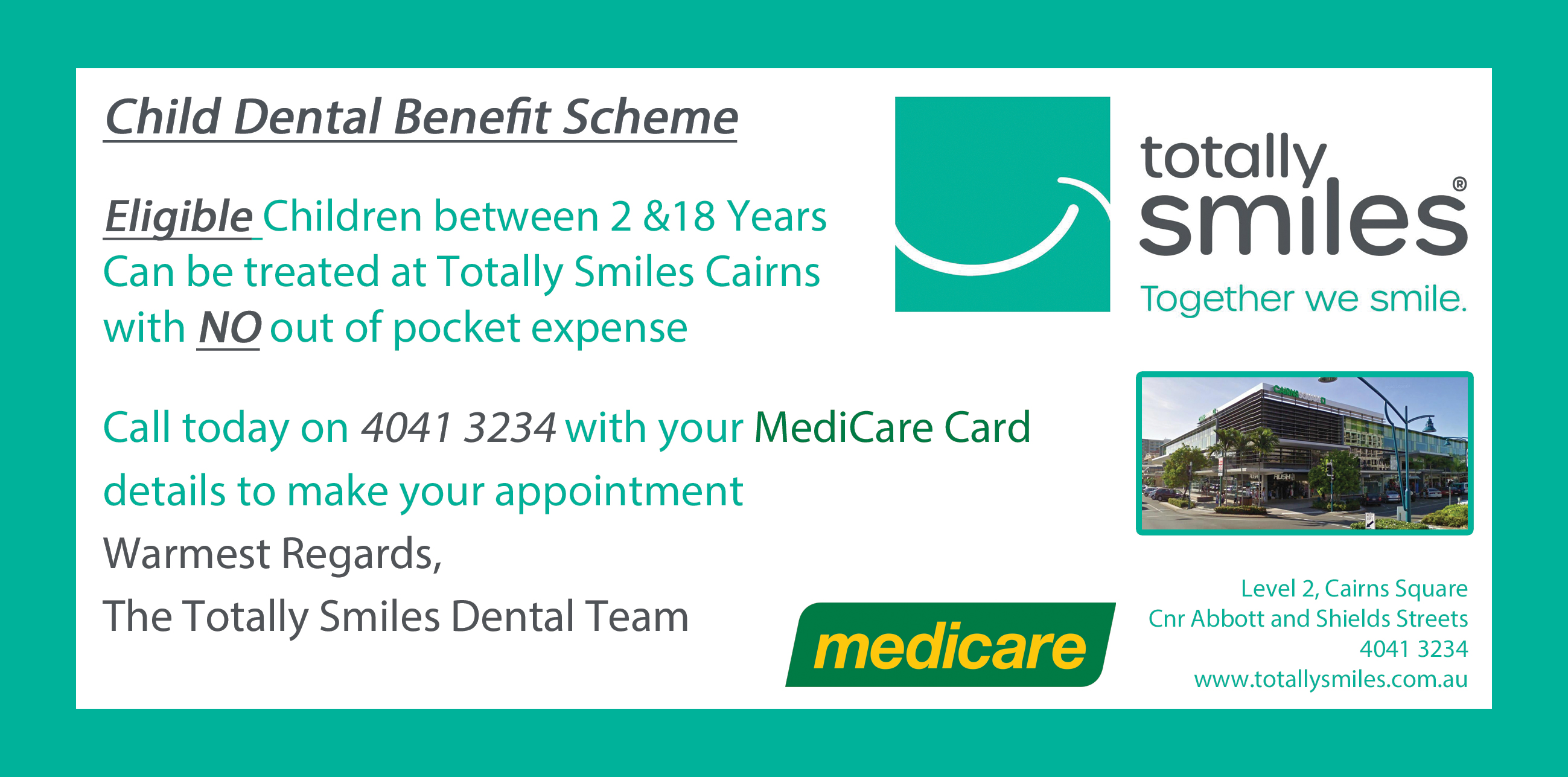 Child Dental Benefits Scheme DL