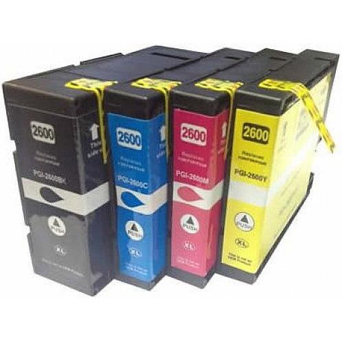 PGI 2600MXL High Yield Magenta Compatible  Inkjet Cartridge