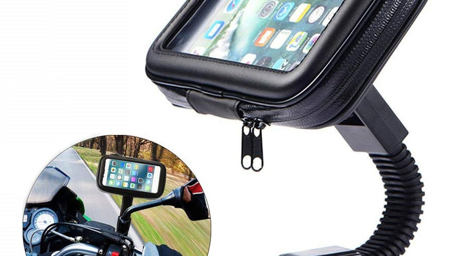 Motorcycle Telephone Holder Support  Waterproof Phone Bag