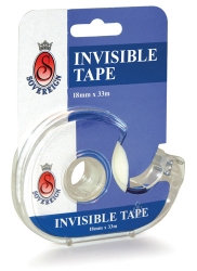 TAPE INVISIBLE SOVEREIGN 18MMX33M ON DISPENSER BOX