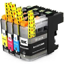 LC233Y Yellow Compatible  Inkjet Cartridge