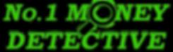 No.1 Money Detective Logo