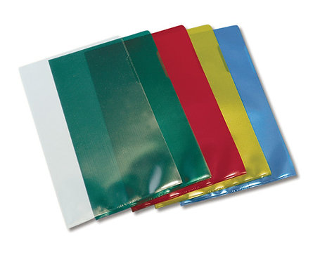 LETTER FILE MARBIG A4 CLEAR Pk 100