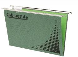 Suspension Files w Tabs Green Box 50 (42072)