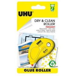 UHU DRY AND CLEAN GLUE ROLLER 6.5MM X 8.5M – BOX OF 6