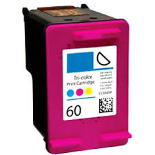 HP60XLCL High Yield Colour  Remanufactured  Inkjet Cartridge