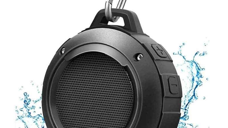 IPX6  Waterproof Bluetooth Speaker Outdoor With MIC HIFI Bass Sound