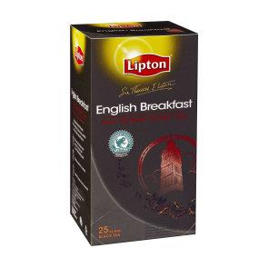 TEA BAGS LIPTON SIR THOMAS ENGLISH BREAKFAST 25'S
