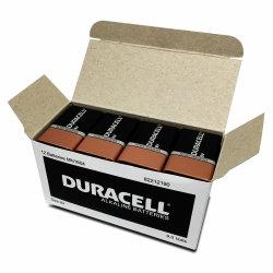 BATTERY DURACELL ALK 9V BULK BX12
