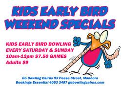 Kids Early Bird Specials