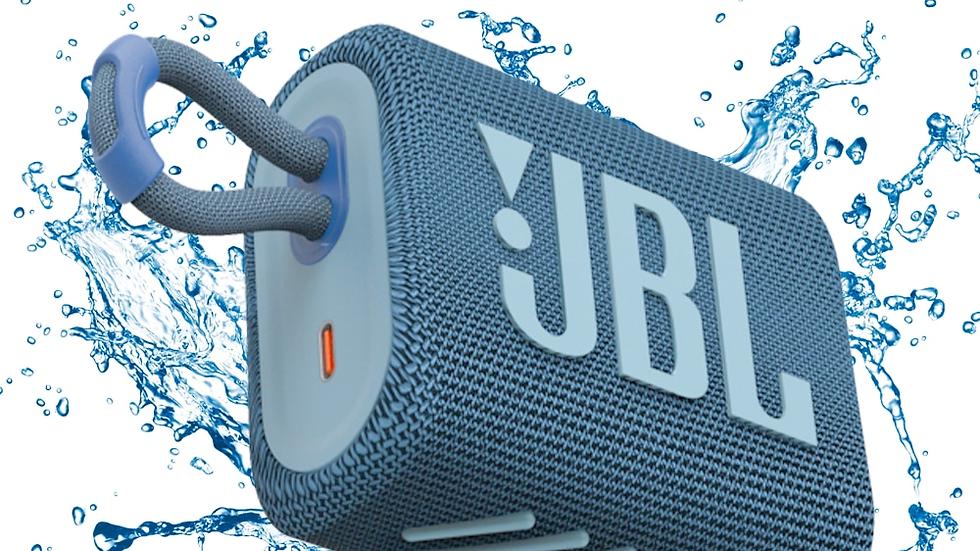 JBL GO3 Wireless Bluetooth 5.1 Speaker Portable Waterproof Bass Sound 5 Hrs Batt