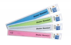 RULER SOVEREIGN 30CM SHATTERPROOF