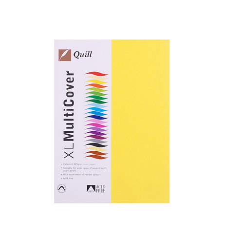 A4 Paper Coloured 125gsm 250pk Variety of colours to choose from
