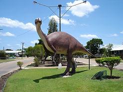 Elliot the Dinosaur at Winton
